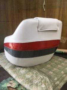 boat seat after repear 1